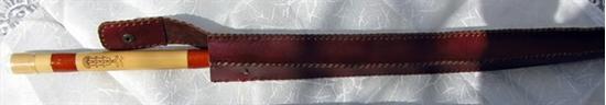 Bild von leather cover for Ney-single